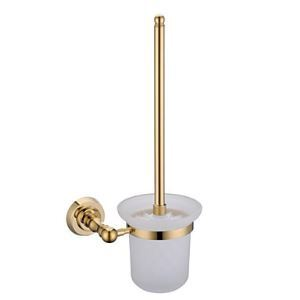 Contemporary Ti-PVD Wall-mounted Toilet Brush Holder