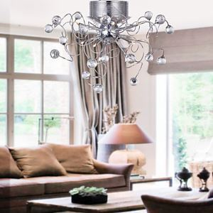 Modern Crystal chandelier with 9 Lights