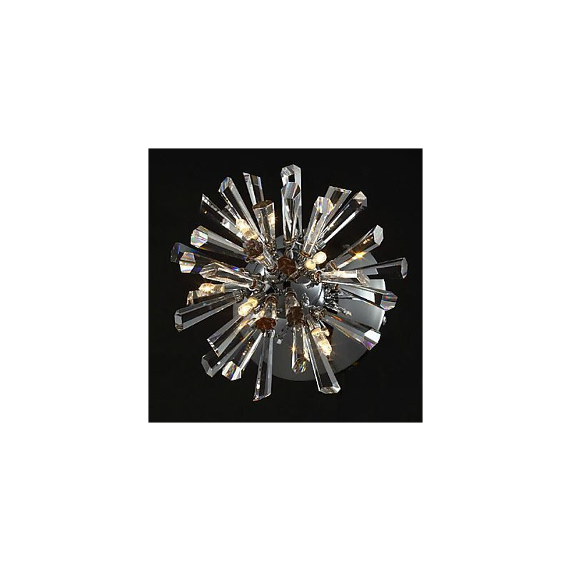 Lighting - Wall Lights - Crystal Wall Lights - Crystal Wall Light with 6 Lights