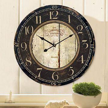 Home Decor Decorative Clocks Country Style Wall Clock