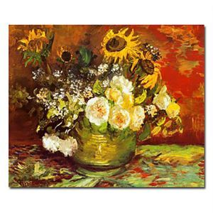 """Hand-painted Famous Oil Painting with Stretched Frame 20"""" x 24"""" by Van Gogh"""