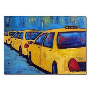 "Hand-painted New York City Oil Painting without Frame 20"" x 24"""