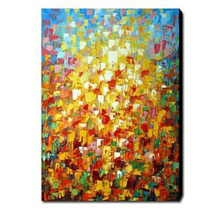 Hand Painted Oil Painting Abstract 1211-AB0258