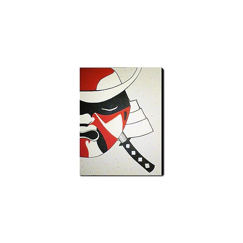 Hand Painted Oil Painting Abstract Samurai 1211-AB0091
