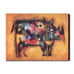Hand Painted Oil Painting Animal 1211-AN0042