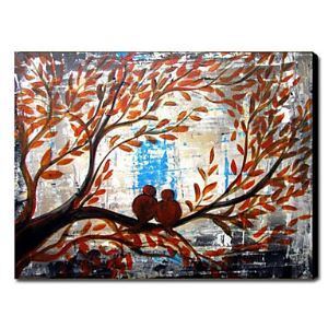 Hand Painted Oil Painting Animal Birds 1211-AN0051