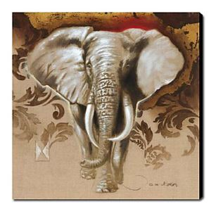 Hand Painted Oil Painting Animal Elephant 1211-AN0058