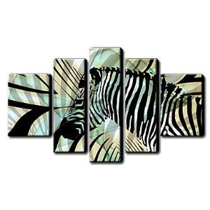 Hand Painted Oil Painting Animal Set of 5 1211-AN0033
