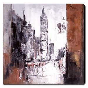 Hand-painted Oil Painting City and Architecture Landscape 1211-LS0011