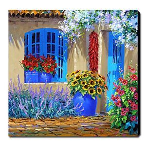 Hand Painted Oil Painting Floral 1211-FL0046