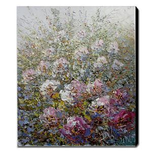 Hand Painted Oil Painting Floral 1211-FL0049