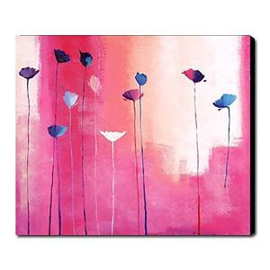 Hand Painted Oil Painting Floral Pink Garden 1211-FL0027