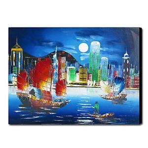 Hand-painted Oil Painting Landscape 1211-LS0017