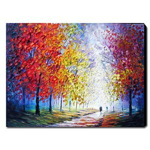Hand Painted Oil Painting Landscape 1211-LS0070