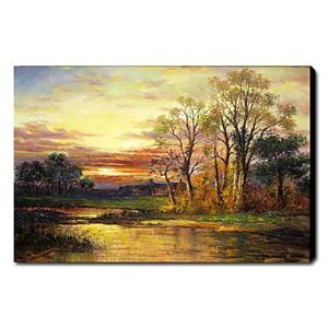 Hand Painted Oil Painting Landscape 1211-LS0184