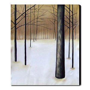 Hand-painted Oil Painting Landscape Portrait