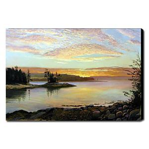 Hand Painted Oil Painting Landscape Seascape 1211-LS0175