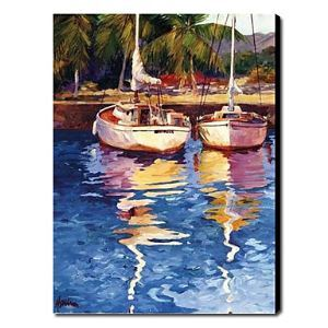 Hand Painted Oil Painting Landscape Seascape 1211-LS0200