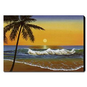 Hand Painted Oil Painting Landscape Seascape 1211-LS0205