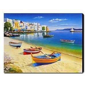 Hand Painted Oil Painting Landscape Seascape 1211-LS0213
