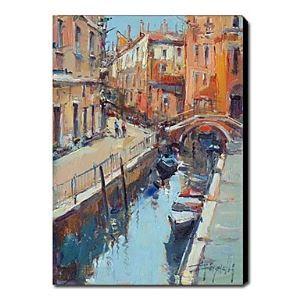 Hand Painted Oil Painting Landscape Venice 1211-LS0152