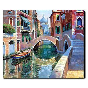 Hand Painted Oil Painting Landscape Venice 1211-LS0154