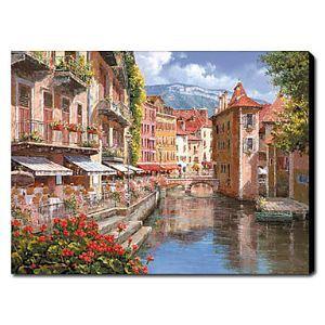Hand Painted Oil Painting Landscape Venice 1211-LS0186