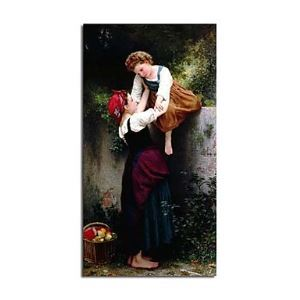 Hand-painted Oil Painting Little Thieves by William-Adolphe Bouguereau without Frame
