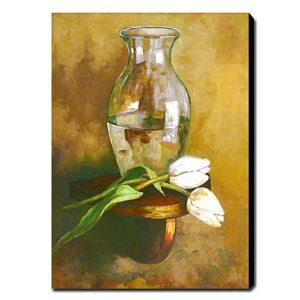 """Hand-painted Oil Painting Still Life 24"""" x 36"""" Portrait"""