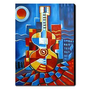 Hand Painted Oil Painting Still Life Musical Instrument 1211-SL0032