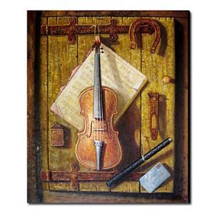 Hand Painted Oil Painting Still Life Musical Instrument1212-SL0038