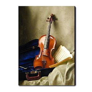 Hand Painted Oil Painting Still Life Musical Instrument1212-SL0044
