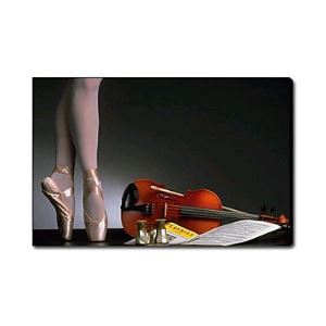 Hand Painted Oil Painting Still Life Musical Instrument1212-SL0046