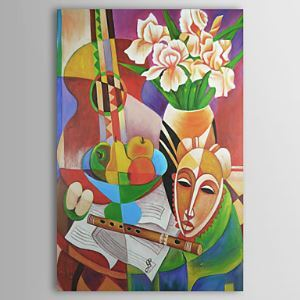 Hand-painted Oil Painting Still Life Tall