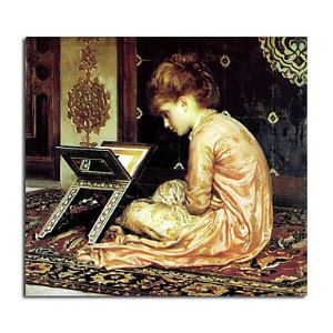 Hand-painted Oil Painting Study by Frederic Leighton without Frame