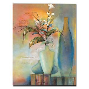 "Hand-painted Still Life Oil Painting with Stretched Frame 20"" x 24"""