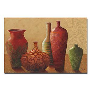 """Hand-painted Still Life Oil Painting with Stretched Frame 24"""" x 36"""""""