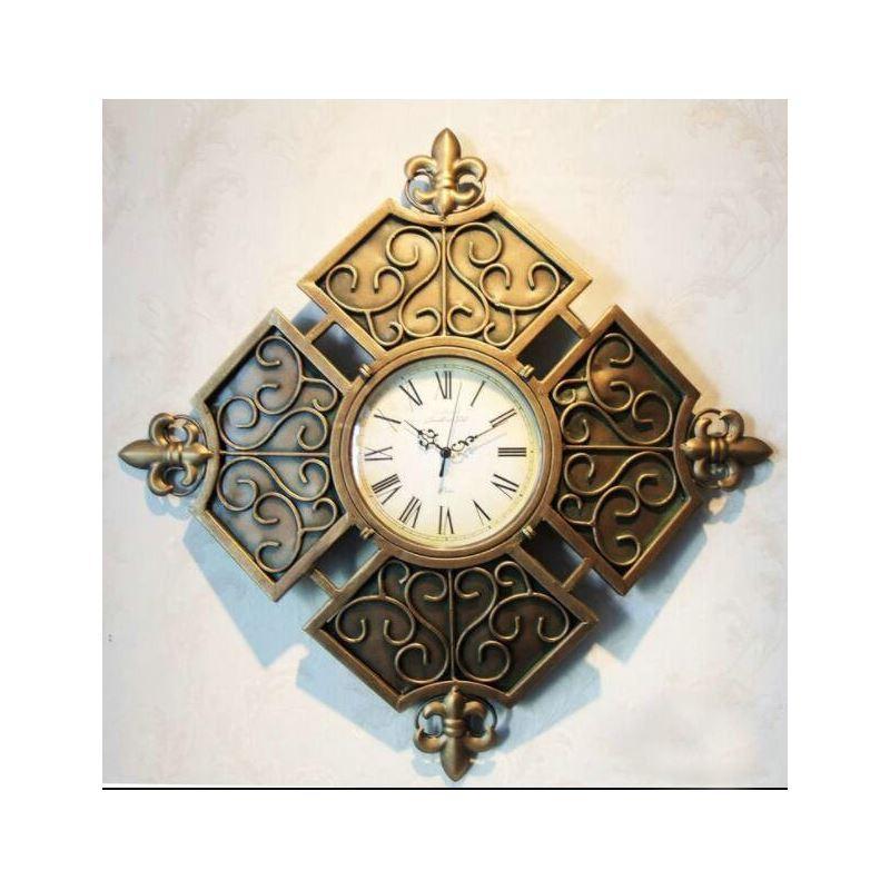 Home Decor Decorative Clocks Artistic Metal Wall Clock