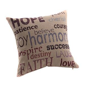 Inspirational Positive Words Decorative Pillow Cases for Christmas Holiday Decor Christmas Pillow Christmas Gifts