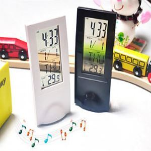 LED Alarm Clock with Thermometer