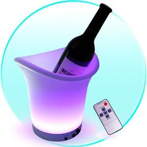 1.8W Ice Bucket Shape LED Light with Remote Control