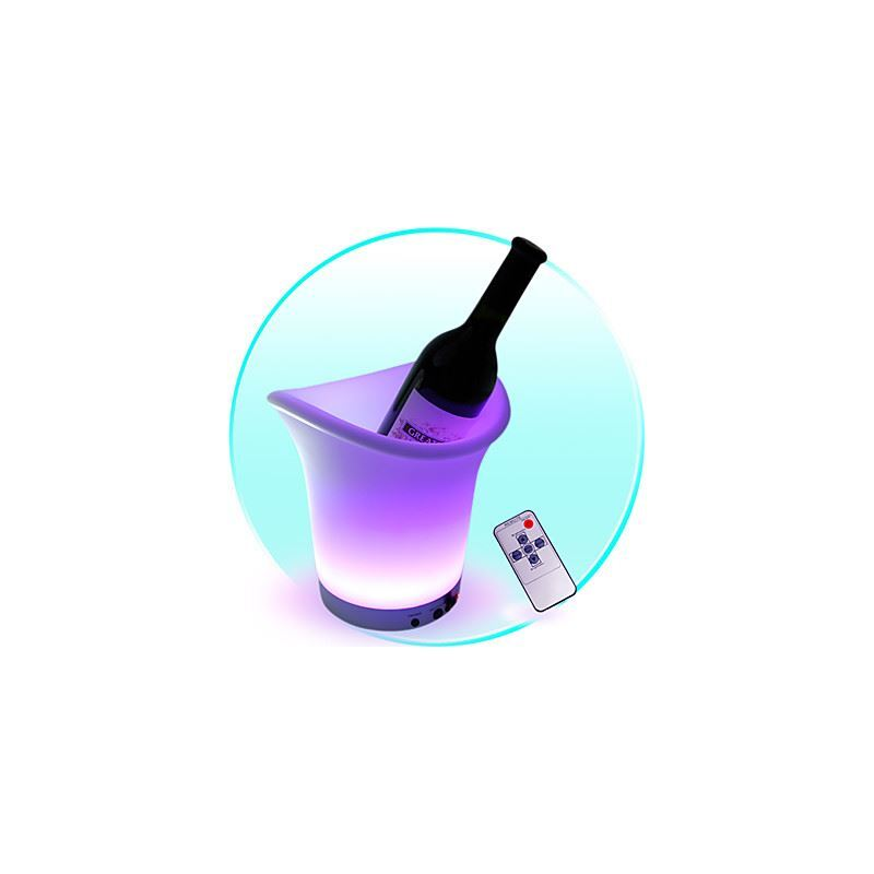 Image of 1.8W Ice Bucket Shape LED Light with Remote Control