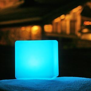 LED Light in Cubic Shape