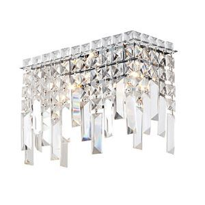 Luxuriant Crystal Wall Lights with 2 Lights
