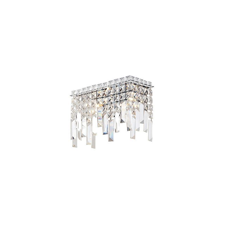 Best Crystal Wall Lights : Lighting - Wall Lights - Crystal Wall Lights - Luxuriant Crystal Wall Lights with 2 Lights