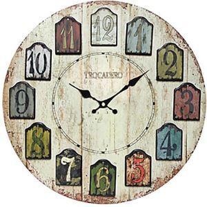 Mediterranean Wall Clock BYD--MZ00264