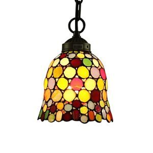 25W Tiffany Style Pendant Light Agate Design