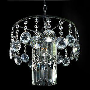 Modern Crystal Chandelier with 1 Light