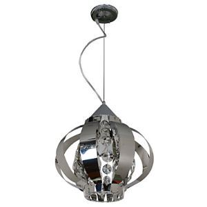 Modern Crystal Pendant Light with 1 Light