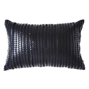 Modern Faux Leather Decorative Pillow Cases